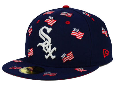 Chicago White Sox New Era MLB All Flags 59FIFTY Cap