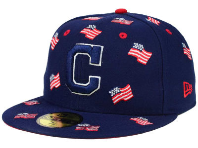 Cleveland Indians New Era MLB All Flags 59FIFTY Cap