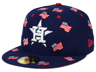 Houston Astros New Era MLB All Flags 59FIFTY Cap