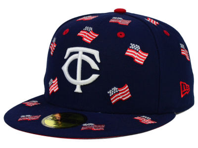 Minnesota Twins New Era MLB All Flags 59FIFTY Cap