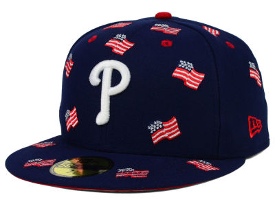 Philadelphia Phillies New Era MLB All Flags 59FIFTY Cap