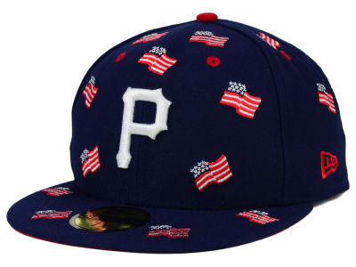 Pittsburgh Pirates New Era MLB All Flags 59FIFTY Cap