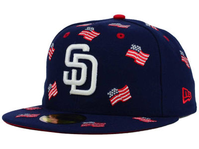 San Diego Padres New Era MLB All Flags 59FIFTY Cap