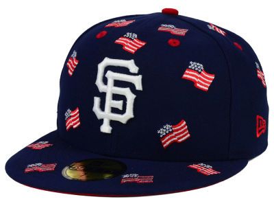 San Francisco Giants New Era MLB All Flags 59FIFTY Cap