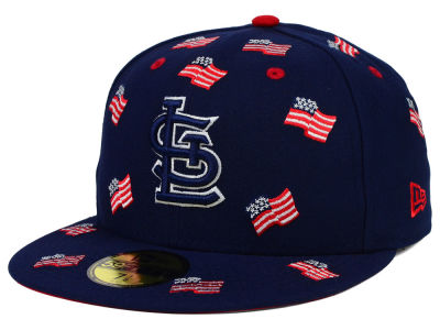 St. Louis Cardinals New Era MLB All Flags 59FIFTY Cap