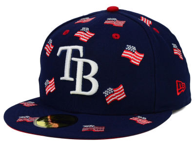 Tampa Bay Rays New Era MLB All Flags 59FIFTY Cap