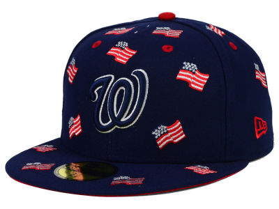 Washington Nationals New Era MLB All Flags 59FIFTY Cap