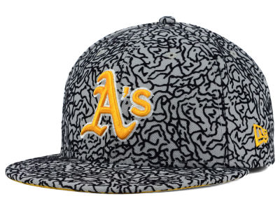 Oakland Athletics New Era MLB All-Cement 59FIFTY Cap