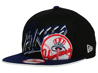 New York Yankees New Era MLB Neon Word Scribbs 9FIFTY Snapback Cap