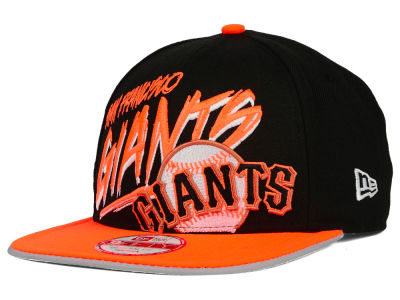 San Francisco Giants New Era MLB Neon Word Scribbs 9FIFTY Snapback Cap
