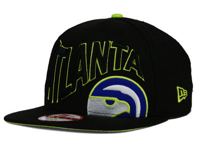 Atlanta Hawks New Era NBA HWC Neon Wave 9FIFTY Snapback Cap