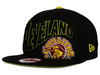 Cleveland Cavaliers New Era NBA HWC Neon Wave 9FIFTY Snapback Cap