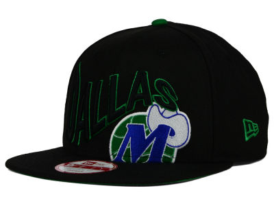 Dallas Mavericks New Era NBA HWC Neon Wave 9FIFTY Snapback Cap