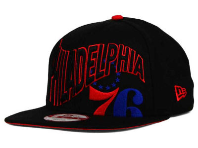 Philadelphia 76ers New Era NBA HWC Neon Wave 9FIFTY Snapback Cap