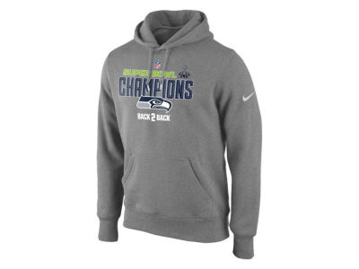 Seattle Seahawks Nike NFL Men's Super Bowl XLIX Champ Locker Room Hoodie