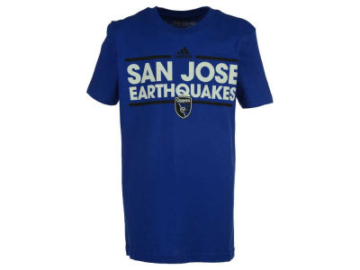 San Jose Earthquakes adidas MLS Youth Dassler T-Shirt