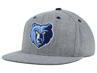 Memphis Grizzlies Mitchell and Ness NBA The Heather Snapback Cap
