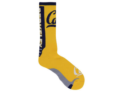 California Golden Bears For Bare Feet Jump Key II Socks