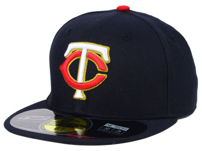 Minnesota Twins New Era MLB Authentic Collection 59FIFTY Cap