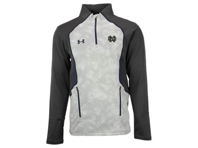 Notre Dame Fighting Irish Under Armour NCAA Men's Limitless Fleece 1/4 Zip Pullover