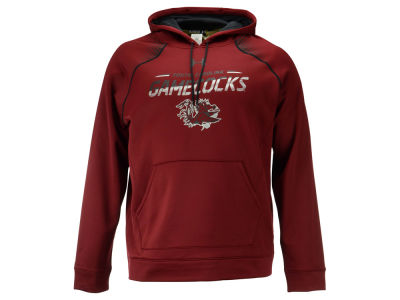 South Carolina Gamecocks Under Armour NCAA Men's Metallic Chrome Ink Hoodie