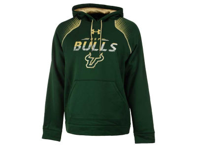 South Florida Bulls Under Armour NCAA Men's Metallic Chrome Ink Hoodie