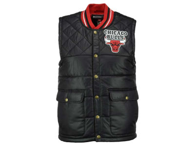 Chicago Bulls Mitchell and Ness NBA Men's Snap Front Vest