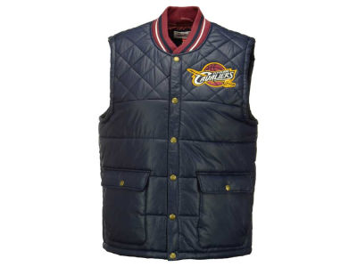 Cleveland Cavaliers Mitchell and Ness NBA Men's Snap Front Vest