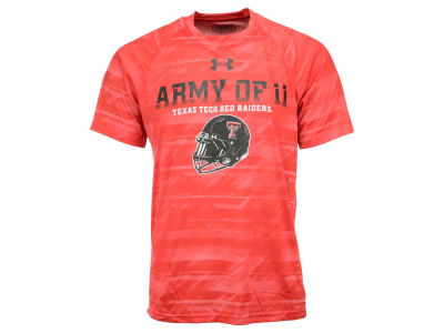 Texas Tech Red Raiders Under Armour NCAA Men's Army of 11 Helmet T-Shirt