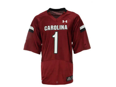 South Carolina Gamecocks #1 Under Armour NCAA Men's Replica Football Jersey