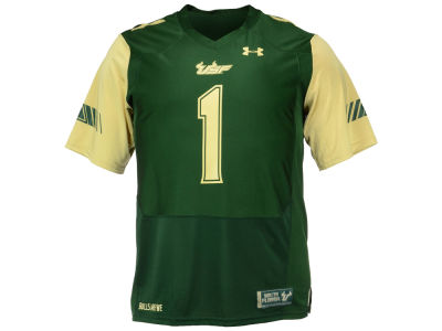 South Florida Bulls #1 Under Armour NCAA Men's Replica Football Jersey