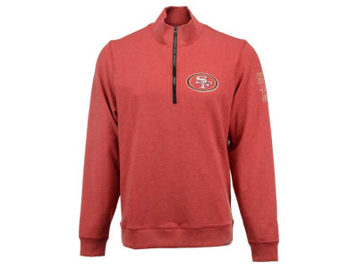 San Francisco 49ers '47 NFL Men's Forward Peak 1/4 Zip Pullover