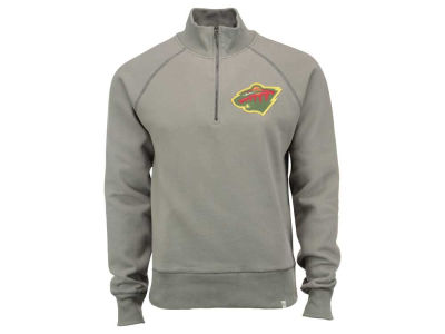 Minnesota Wild '47 NHL Men's X-Check 1/4 Zip Pullover Shirt