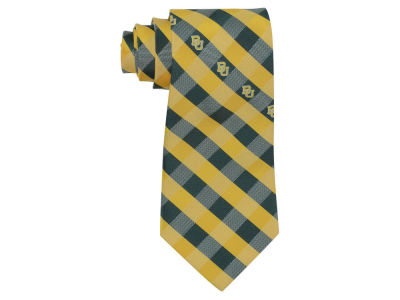 Baylor Bears Polyester Checked Tie