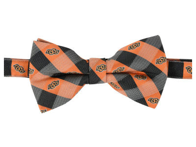 Oklahoma State Cowboys Bow Tie Checkered Repeat
