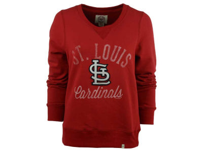 St. Louis Cardinals '47 MLB Women's Cross-Check Crew Sweatshirt