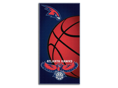 Atlanta Hawks Beach Towel Emblem