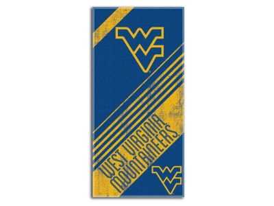 West Virginia Mountaineers Beach Towel