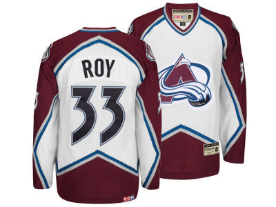Colorado Avalanche Patrick Roy Reebok NHL Men's Retired Premier Player Jersey