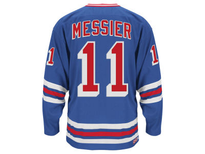 New York Rangers Mark Messier Reebok NHL Men's Retired Premier Player Jersey
