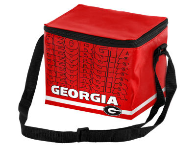 Georgia Bulldogs 6-pack Lunch Cooler Big Logo
