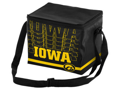 Iowa Hawkeyes 6-pack Lunch Cooler Big Logo