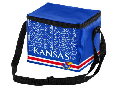 Kansas Jayhawks 6-pack Lunch Cooler Big Logo
