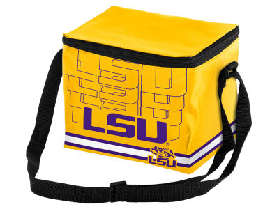 LSU Tigers 6-pack Lunch Cooler Big Logo