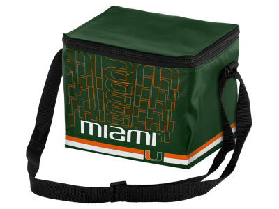 Miami Hurricanes 6-pack Lunch Cooler Big Logo