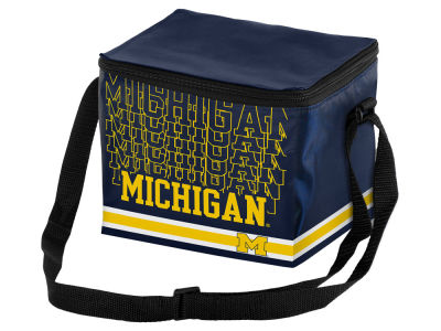 Michigan Wolverines 6-pack Lunch Cooler Big Logo