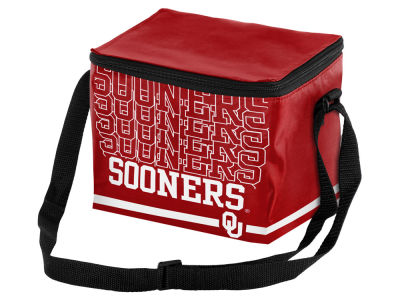 Oklahoma Sooners 6-pack Lunch Cooler Big Logo