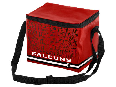Atlanta Falcons 6-pack Lunch Cooler Big Logo