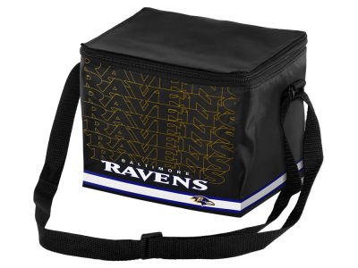 Baltimore Ravens 6-pack Lunch Cooler Big Logo