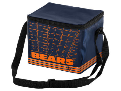 Chicago Bears 6-pack Lunch Cooler Big Logo